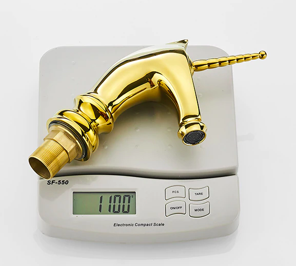 Gold Unicorn Bathroom Sink Faucet Gold Water Taps & Faucets