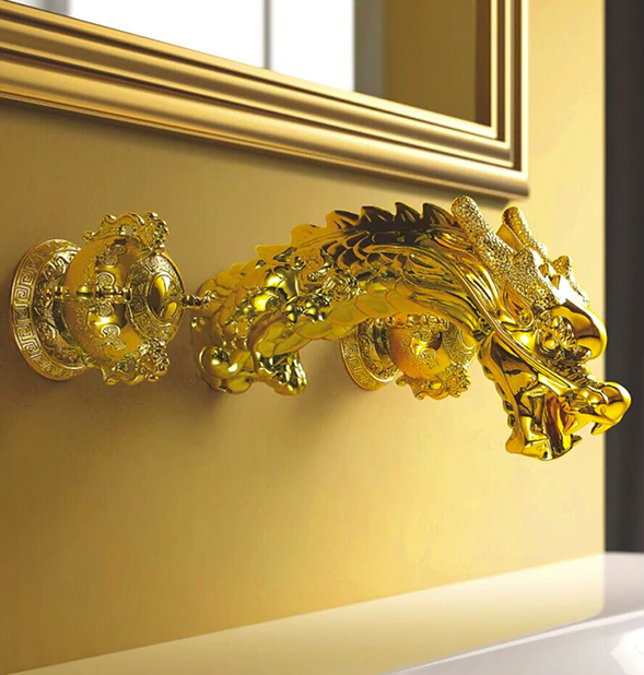 Gold Dragon Faucet Gold Water Taps & Faucets