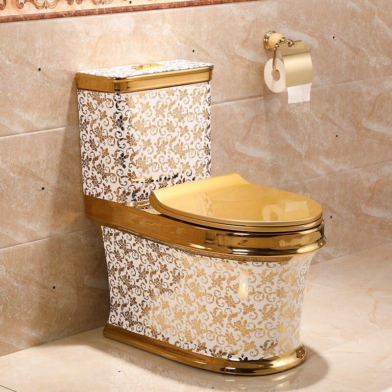 Gold Pattern Toilet Gold Toilets
