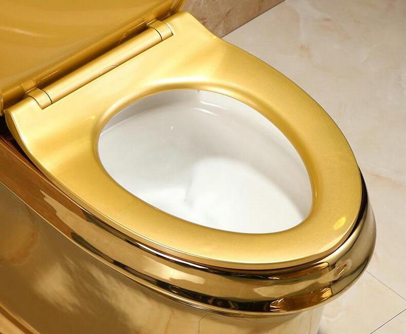 Plain Gold Toilet Gold Toilets