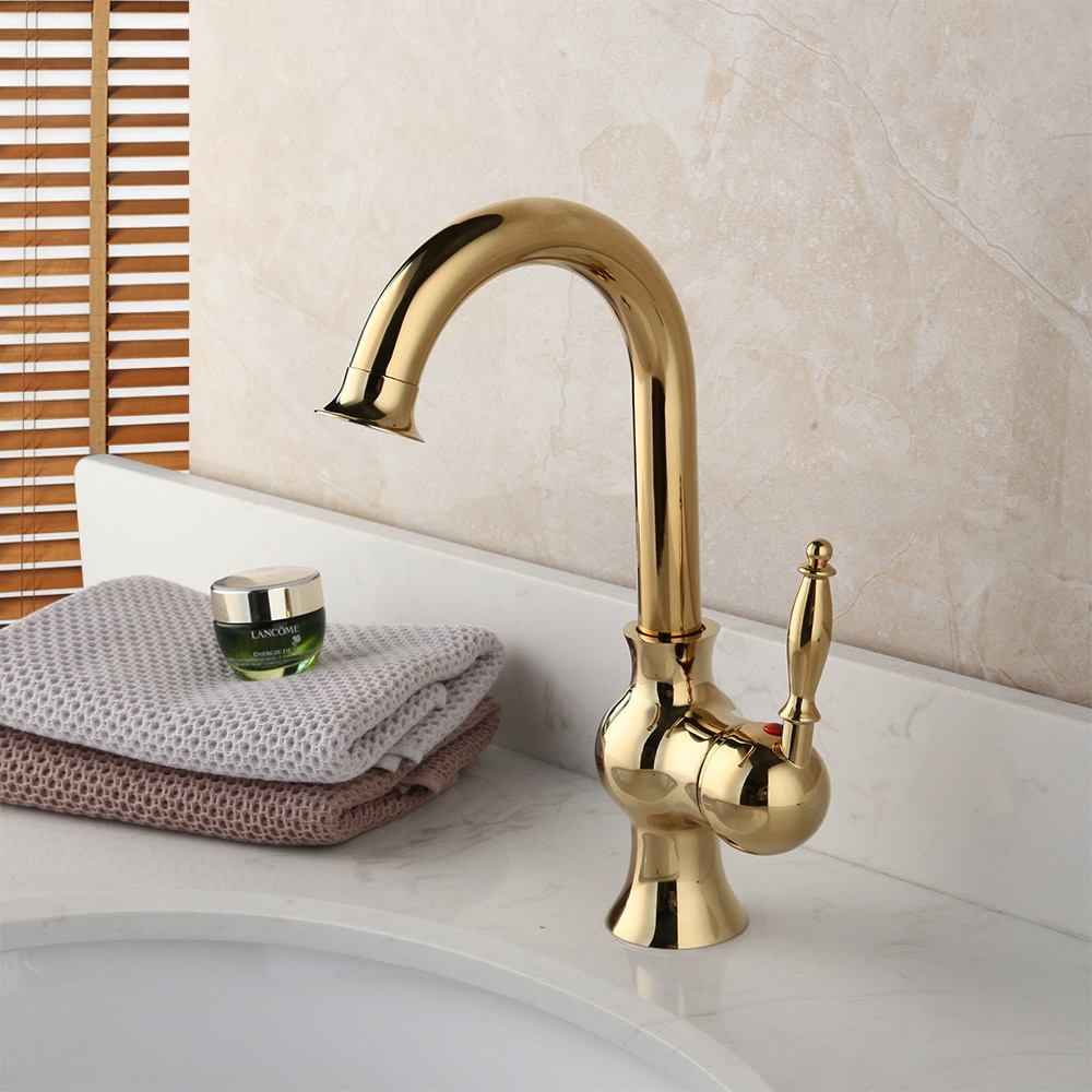 Classic Gold Basin Faucet Gold Water Taps & Faucets